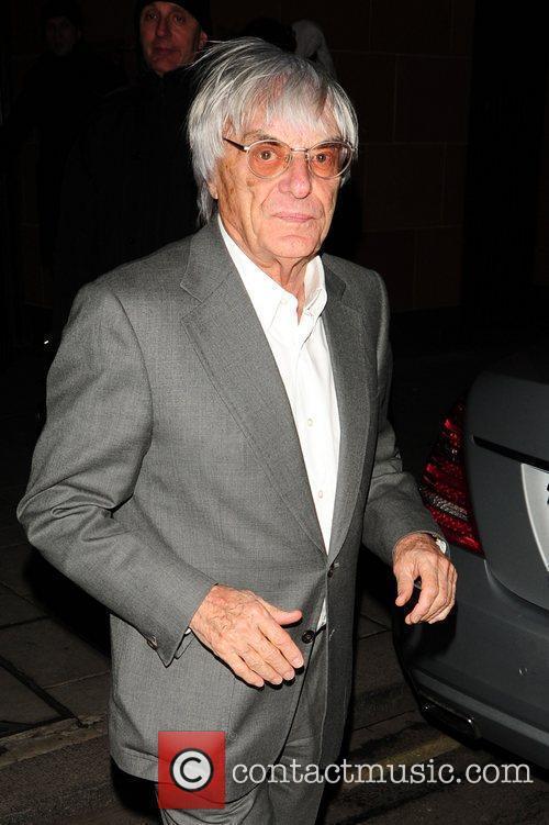 Bernie Ecclestone at C London restaurant London, England