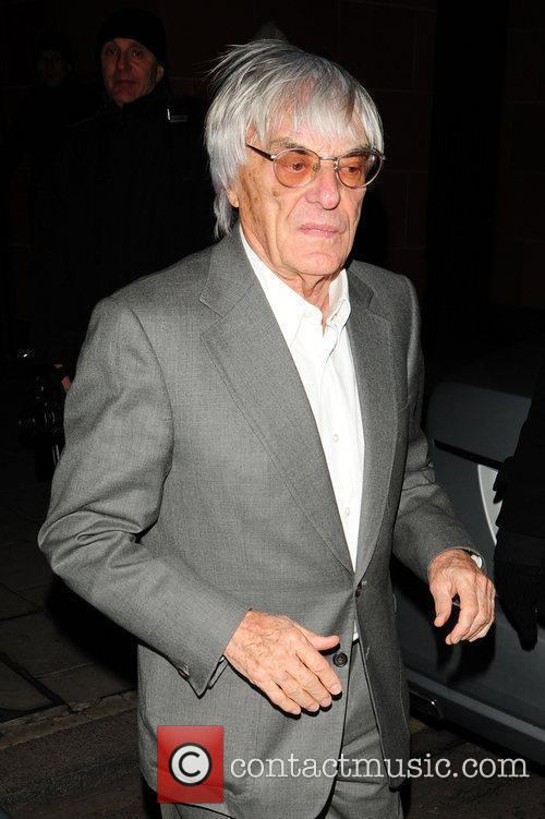 Bernie Ecclestone at C London restaurant