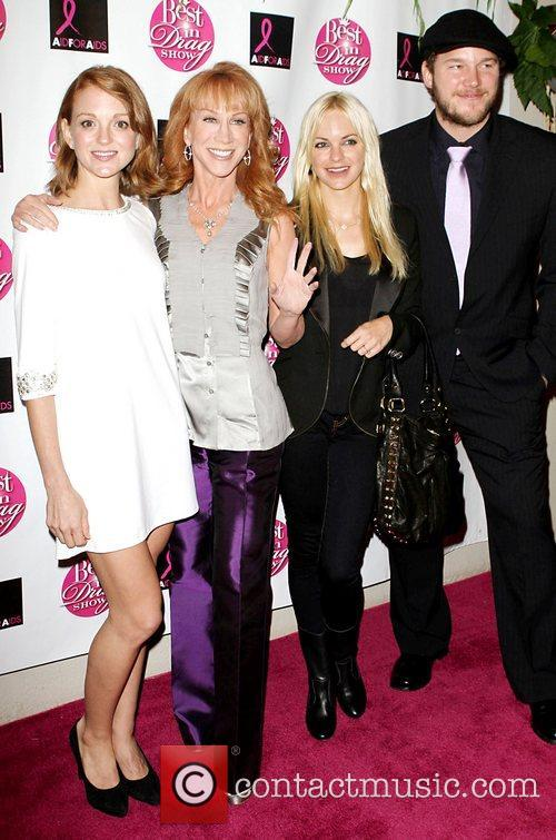 Jayma Mays, Kathy Griffin, Anna Faris and Chris...