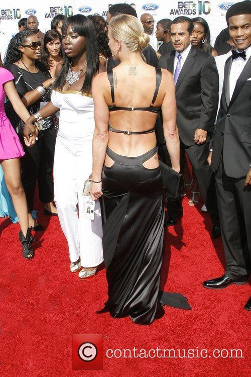 Brittany Daniels 2010 BET Awards held at the...