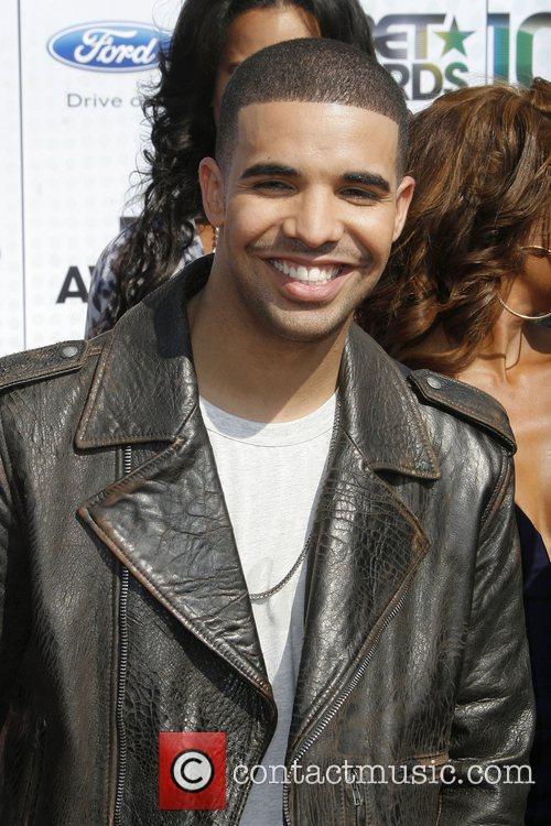 Drake 2010 BET Awards held at the Shrine...