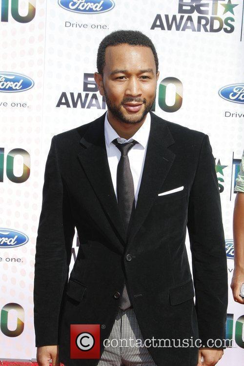 John Legend 2010 BET Awards held at the...