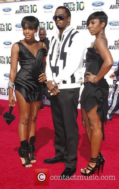 Dawn Richard, Sean Combs and Kaleena 2010 BET...