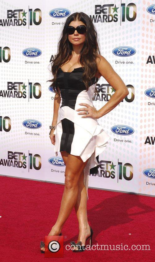 Stacy Ferguson aka Fergie 2010 BET Awards held...