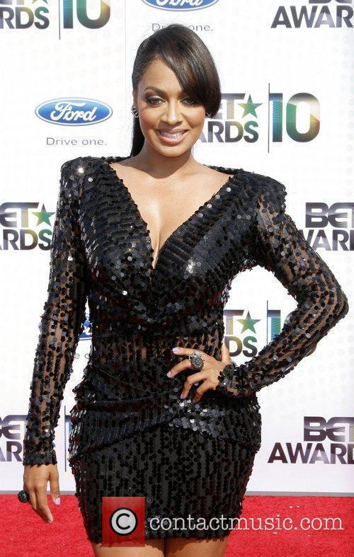 LaLa Vazquez 2010 BET Awards held at the...