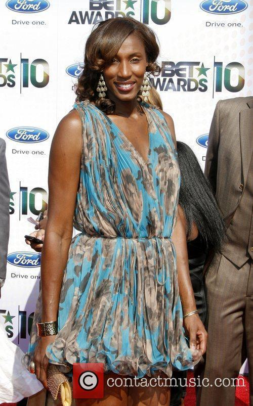 Lisa Leslie 2010 BET Awards held at the...