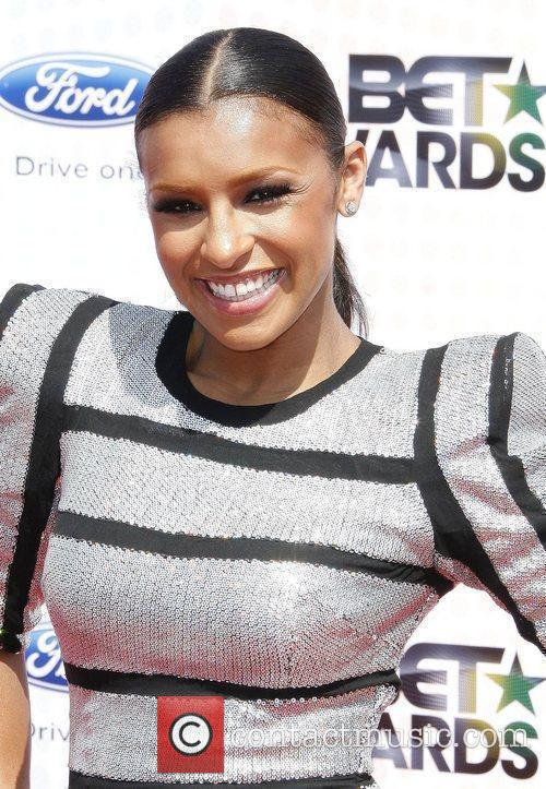 Melody Thornton 2010 BET Awards held at the...