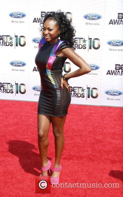 Naturi Naughton 2010 BET Awards held at the...