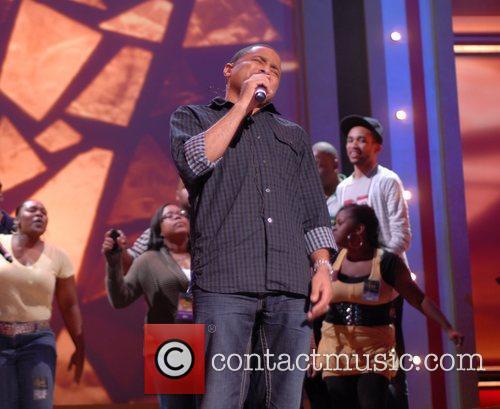 Smokie Norful BET Celebration of Gospel Rehearsals held...