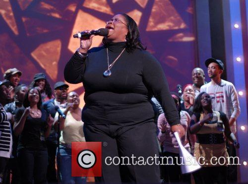 Kathy Taylor BET Celebration of Gospel Rehearsals held...