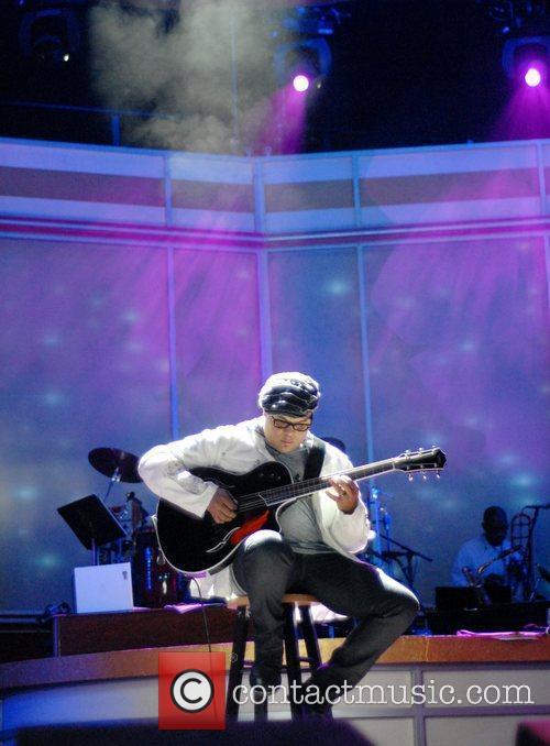 Israel Houghton BET Celebration of Gospel Rehearsals held...