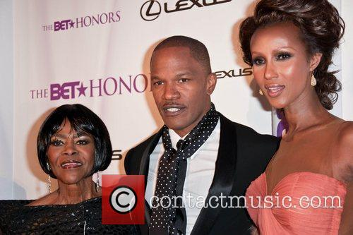 Cicely Tyson, Iman and Jamie Foxx 1
