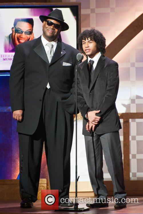 Jimmy Jam and Noah Gray-cabey
