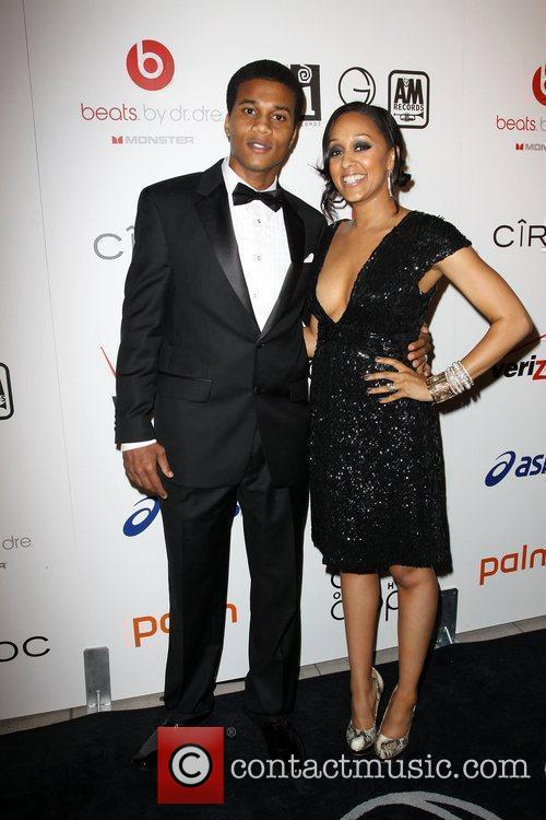 Tia Mowry And Her Boyfriend, Tia Mowry and Celebration 1