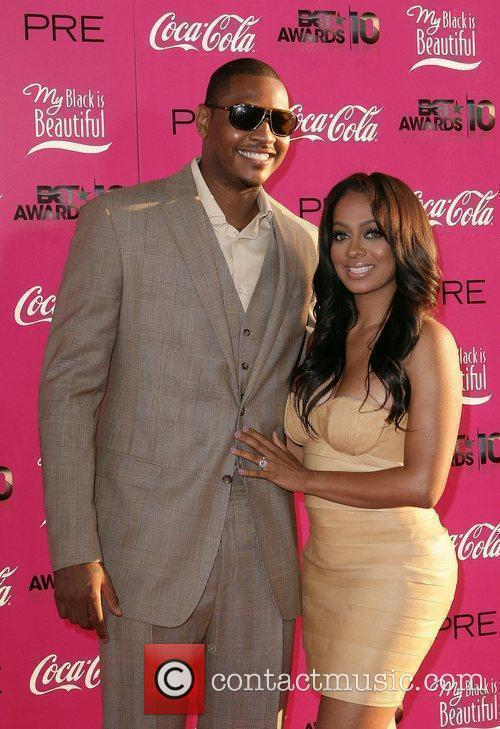 Carmelo Anthony and Lala Vasquez 3rd Annual BET...