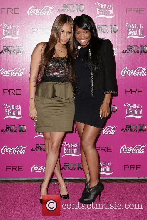 Lauren London and Nivea