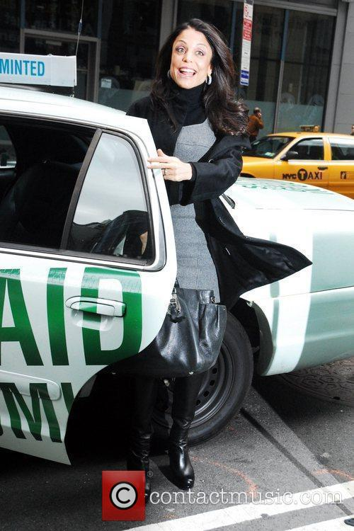 Bethenny Frankel launches the new Trident Layers car...