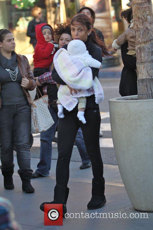 Bethenny Frankel and her daughter, Bryn Casey Hoppy,...