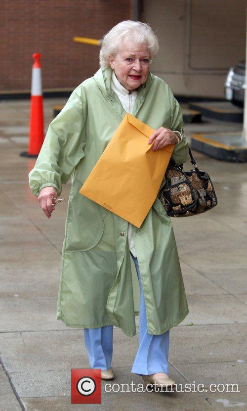 Betty White Leaving a medical building Beverly Hills,...