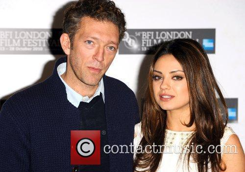 Vincent Cassel and Mila Kunis The 54th Times...