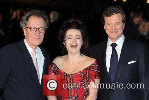 Colin Firth, Helena Bonham Carter, Geoffrey Rush The...