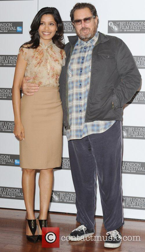 Frieda Pinto and Julian Schnabel The 54th BFI...