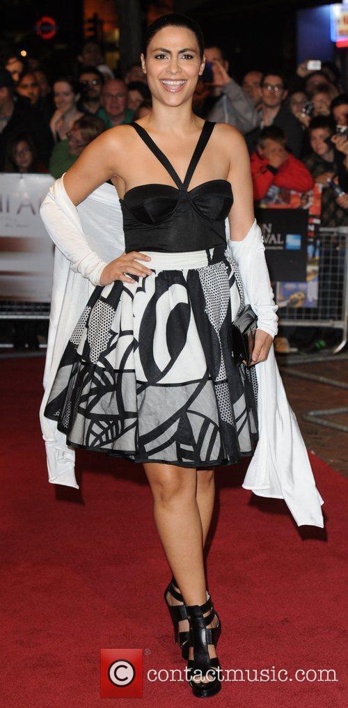 Yasmine Al Massri 54th BFI London Film Festival...