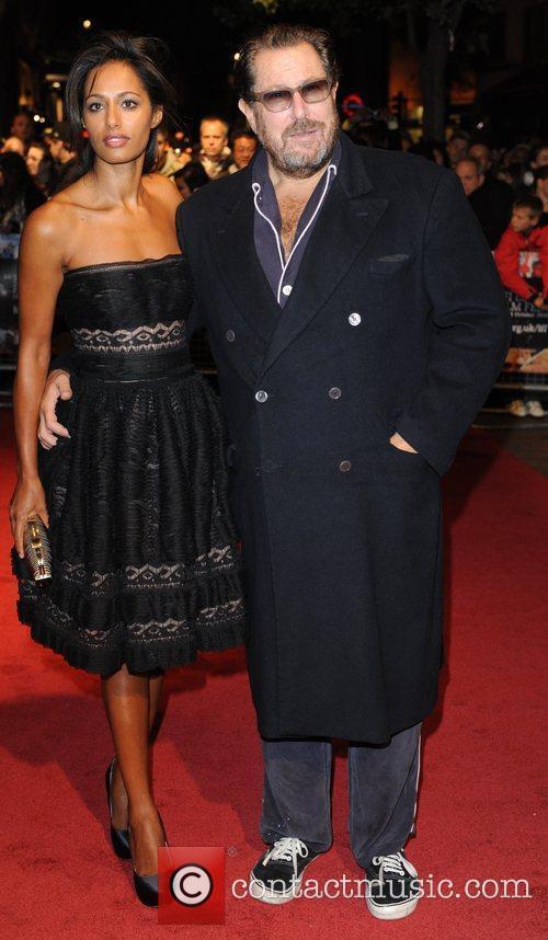 Rula Jebreal and Julian Schnabel 54th BFI London...