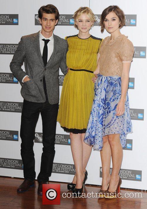 Andrew Garfield, Carey Mulligan and Keira Knightley 11
