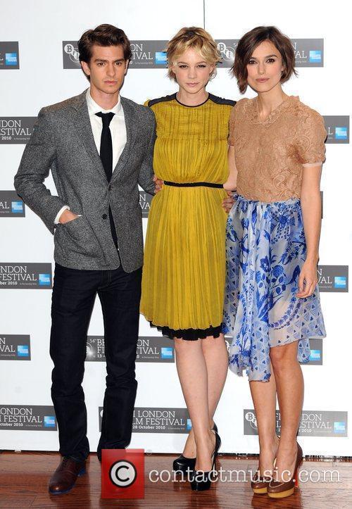 Andrew Garfield, Carey Mulligan and Keira Knightley...