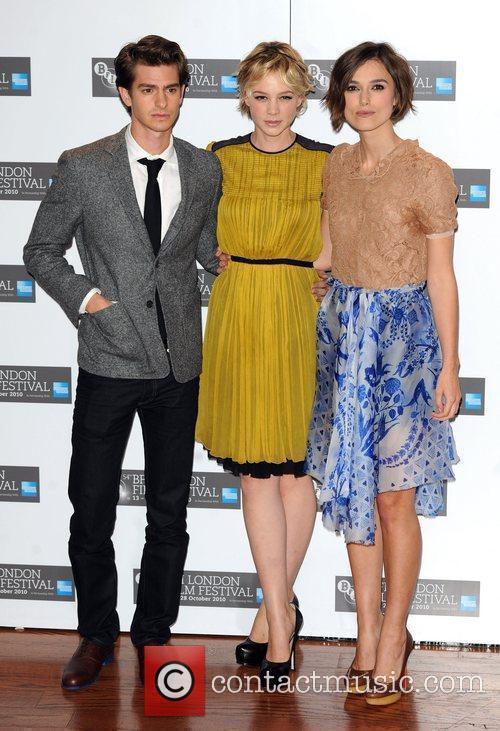 Andrew Garfield, Carey Mulligan and Keira Knightley 5