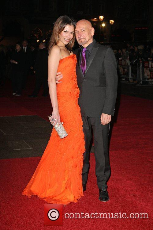 Sir Ben Kingsley and Daniela Lavender  The...