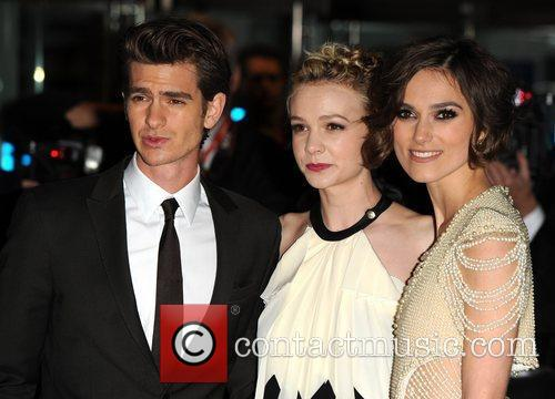 Keira Knightley, Carey Mulligan, Andrew Garfield The 54th...