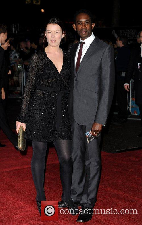 Olivia Williams and guest The 54th Times BFI...