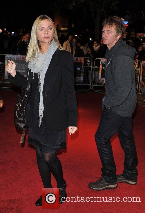 Samantha Janus and guest 54th BFI London Film...