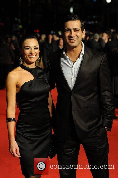Jimy Mistry and Flavia Cacace 54th BFI London...