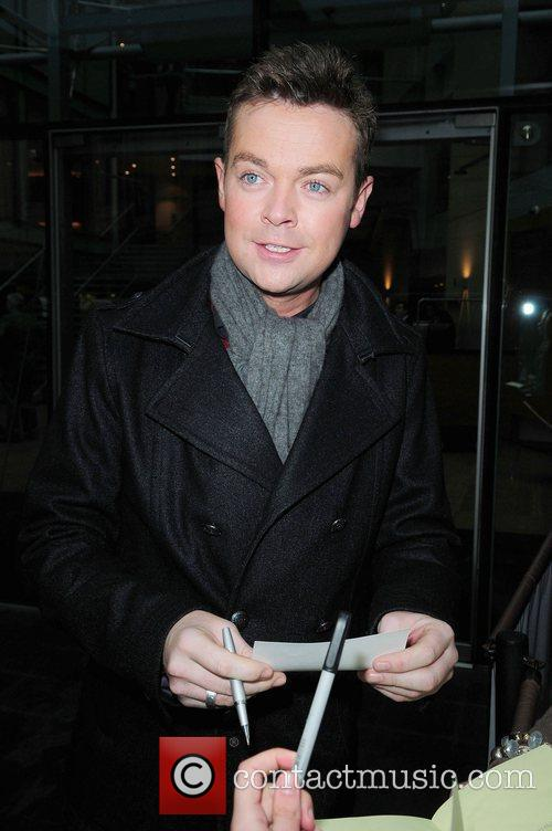 Stephen Mulhern leaving his hotel to head to...