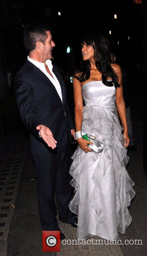 Simon Cowell and Jackie St Claire leave Mr...