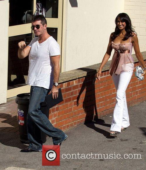 Simon Cowell and Jackie St Claire The 'Britain's...