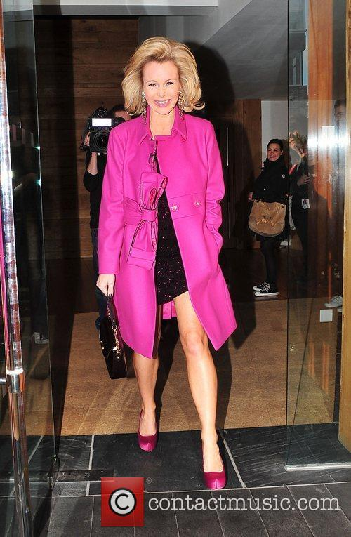 Amanda Holden leaving her hotel ahead of the...