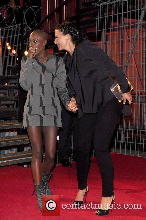 Ife and Davina McCall Ife has become the...