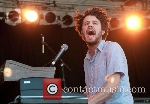 Michael Angelakos OF Passion Pit Big Day Out...