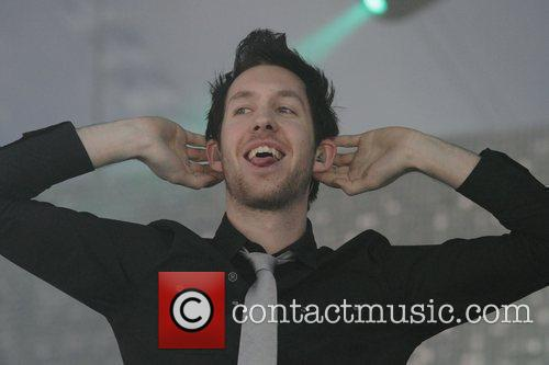 Calvin Harris performing live at the Big Day...