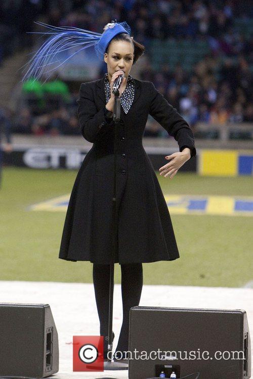Performing at Big Game 3, the Aviva Premiership...