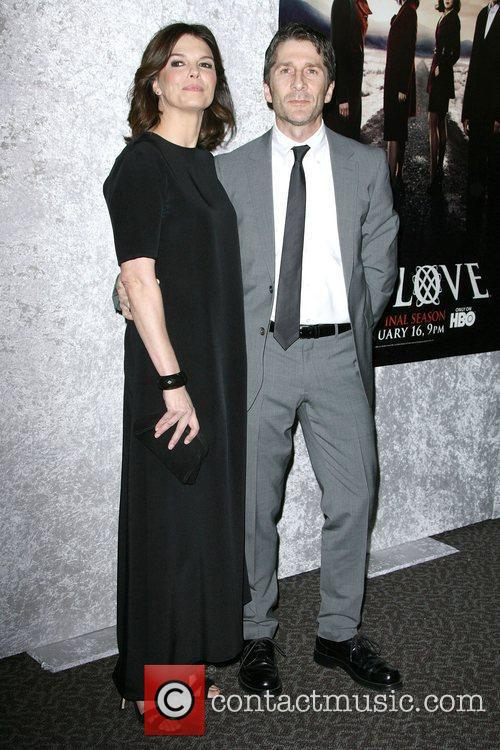 Jeanne Tripplehorn and Leland Orser Los Angeles Premiere...
