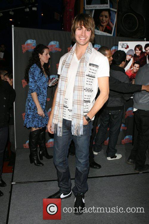 The cast of Nickelodeon's 'Big Time Rush' appear...
