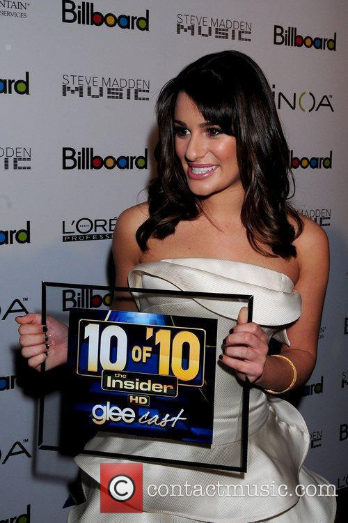 Lea Michele and Billboard 9