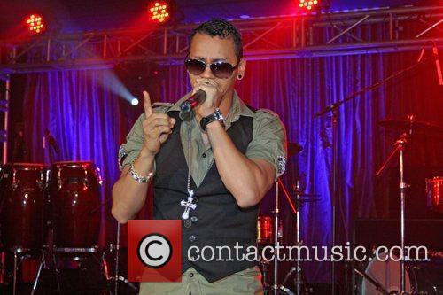 Panamanian Hip-Hop artist Flex performs during the Billboard...