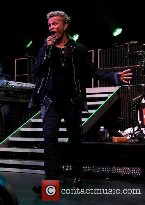 Billy Idol  performing at The Pearl at...
