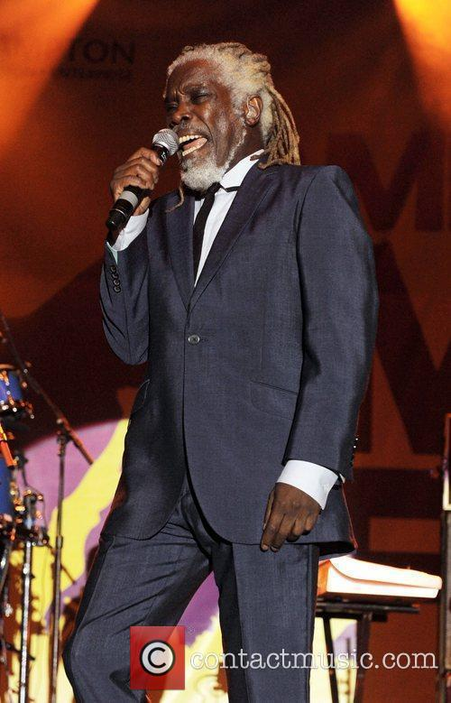 Billy Ocean performs at The Midlands Music Festival...